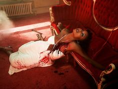 Violence in Fashion: America's Next Top Model Photoshoot (click thru for analysis)