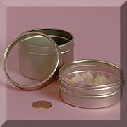 cheapest website for tins I've found (for storing homemade lotion or sugar scrub concoctions)