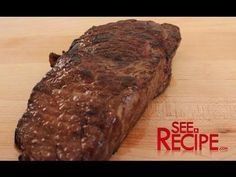 Cook the best steak of your life by simply changing the way you think about searing a steak. Flip the script and cook the steak in reverse. Easy Steak Recipes, Raw Food Recipes, Meat Recipes, Cooking Recipes, Yummy Recipes, Braised Steak, Bbq Steak, Cook Frozen Steak, Cooking The Best Steak
