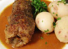 Rouladen Hausfrauenart - Homemade Beef Roulade