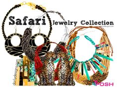 Our Safari Jewelry Collection - Shop Online for one of the hottest trends of Spring Summer 2015 DORLY DESIGNS: Fashion Accessories Gone Wild: Hot Styles And Prints S/S 2015 #animal #prints
