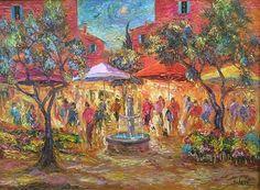 Let the city speak. #Duaiv #ArtbyDuaiv #Painting