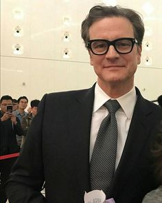 """☆ COLIN FIRTH ADDICTED ☆ *** NEW PICS Colin Firth in Beijing for the """"China Britain Film Festival"""" - 12 December #ColinFirth"""
