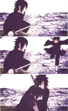 Uchiha Izuna and Madara . Izuna looks identical to Sasuke. Anime Naruto, Naruto Shippuden, Madara Uchiha, Shikamaru, Gaara, Ninja, Naruto Series, Naruto Pictures, Akatsuki