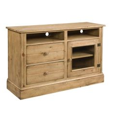 Entertainment Console, Home Coming - Vintage Pine, Kincaid Furniture.    www.mkhomedesign.com