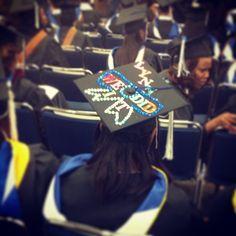 Decorated Cap! #lynngrad #graduation #cap