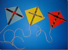 Things that fly. Airplane kite.