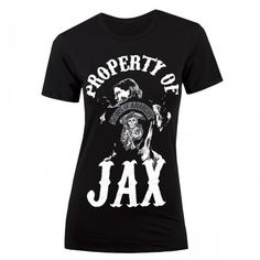 I WANT THIS SANTA Sons of Anarchy Property of Jax Women's T-Shirt | TV Shows | Sons of Anarchy | ShopTV