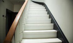 L'escalier de l'entrée de Florence Mars