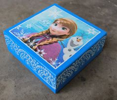 decoupage box frozen - Szukaj w Google