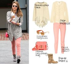 Get The Look - Jessica Alba, created by @The Closet Clause TCC