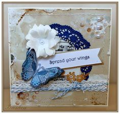 """My """"scrappy"""" world: Aj v marci sa súťaží Wings, World, Frame, Handmade, Crafting, Home Decor, Picture Frame, Hand Made, Frames"""