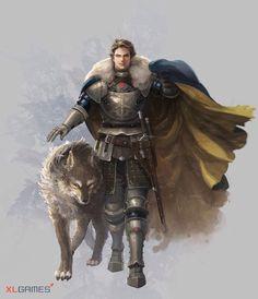 Con su lobo