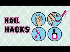 10 trucuri pentru unghii - YouTube Nail Polish Stain, Glitter Nail Polish, The Art Of Nails, My Nails, Acrylic Nails At Home, Foundation Sponge, Nail Games, Nail Tips, Nail Ideas