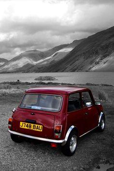 Red Mini Cooper