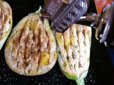 Baklažán pečený s cesnakom - obrázok 1