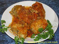 Минтай в томатной подливке - пошаговый фоторецептКулинарные рецепты