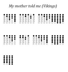 My mother told me - Tin whistle