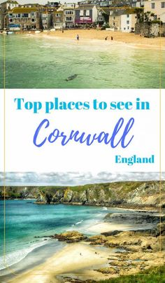 The best 3 days Cornwall itinerary - PintoPin Backpacking Europe, Europe Travel Guide, Travel Abroad, Travelling Europe, Traveling, Europe Destinations, Sightseeing London, Cornwall England, Yorkshire England