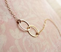 Two Circle Bracelet   this is the infinity symbol....cool
