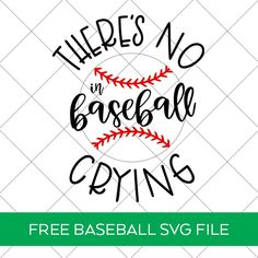 There's No Crying in Baseball SVG File to make a DIY Baseball Shirt with links to 14 other FREE Baseball SVG Files. Find them all at Pineapple Paper Co. Cricut Htv, Svg Files For Cricut, Cricut Craft, No Crying In Baseball, Baseball Mom, Papers Co, Girls Be Like, Svg Cuts, Cricut Design
