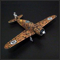 WWII Fiat G.50 Freccia Fighter Free Aircraft Paper Model Download - http://www.papercraftsquare.com/wwii-fiat-g-50-freccia-fighter-free-aircraft-paper-model-download.html