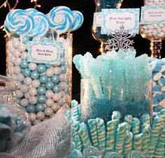 Blue Candy Buffet How To