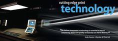 Cutting edge print technology