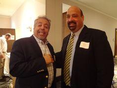 Mr. Michael Bolanos ( right) of Horizon Lines