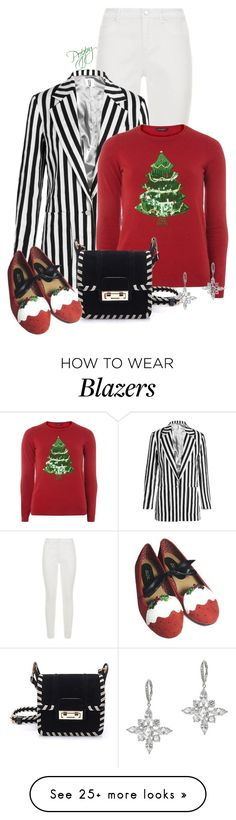 """""""Christmas Pudding Pumps"""" by bainbridgegal on Polyvore featuring Elie Tahari, Topshop Unique, Dorothy Perkins and CZ by Kenneth Jay Lane"""