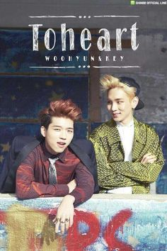 [PIC] 140408 SHINee's Official LINE Update - #Toheart (Woohyun and Key) new images reveal #1 pic.twitter.com/3RFU1leLEx