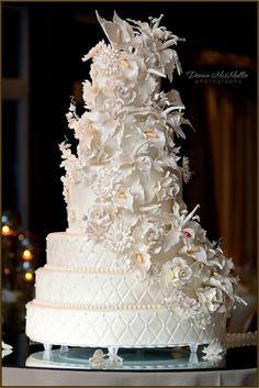 Aşırı Güzel 30 Düğün Pastası