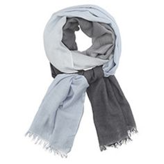 Trouva: Care By Me Dip Dye Scarf In Blue