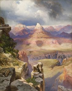 The Grand Canyon by Thomas Moran ~ oil on canvas