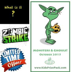 "Can you Guess what will be in the October Kids Prize Packs?!? Get Yours Today before they are all claimed! http://ift.tt/1FaXSxq Use Promo Code ""WELCOME2KPP""  #kids #kidsbirthday #KidsPrizePack #halloween #halloween2015 #happyhalloween #mlp #marvel #monsters #monsterhigh #monsterhighdolls #monstersandghouls #zombie #nerf #nerd #zombiestrikenerf #library #literacy #limitedtimeonly #goosebumps #superhero #fabercastell #sale #subscribe #SubscriptionBox #subscriptionboxes #subscribenow #unboxing…"