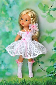 """Комплекты """" Белые кружева"""" с голубой и розовой отделкой. / Одежда для кукол / Шопик. Продать купить куклу / Бэйбики. Куклы фото. Одежда для кукол"""