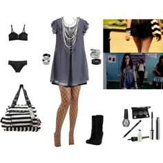 Effy Stonem inspired. / I really want to put this togetherrrrr!
