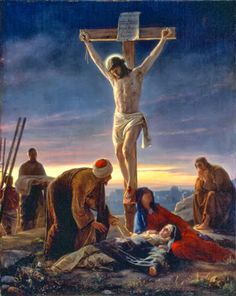 """Crucifixión"" - Carl Bloch Heinrick"