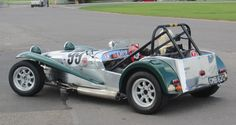 Caterham Super 7, Caterham Seven, Lotus 7, Se7en, Classic Sports Cars, Automotive Art, Kit Cars, Sport Cars, Motors