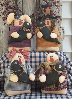 My Old Crow Primitives free pattern