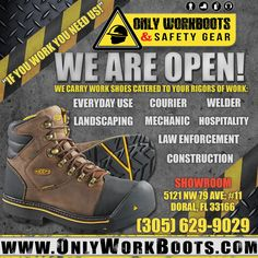 Only Work Boots - Occupational Footwear direct from the manufacturer. Georgia Boots, Timberland Pro, Carhartt, Hiking Boots, Footwear, Check, Shoes, Zapatos, Shoe