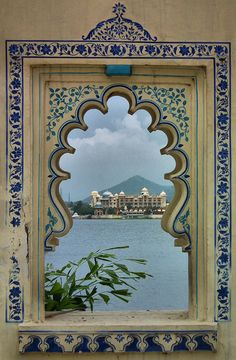 Udiapur, Rajastan, India by toyaguerrero - I would love to have windows in beautiful shapes like this.