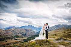 Wedding portfolio of the best of Queenstown and Wanaka Weddings by Queentowns most awarded Wedding Photographer Fredrik Larsson New Zealand Landscape, Mountain Weddings, Documentary Wedding Photography, Wedding Images, Bride Groom, Real Weddings, Documentaries, Landscapes, March