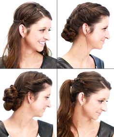 Easy Long Hairstyles for a Rainy Day Don't let a downpour ruin your hair day -- hit the street with styles built to hold up in a hurricane