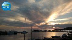 Puerto de Denia.  Amanecer