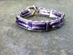Double Tube with Flat Spacers Wampum Bead by JasonWiddissWampum, $630.00