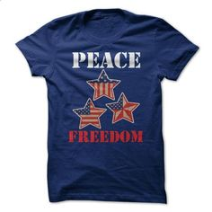 Peace and Freedom USA - #summer tee #victoria secret hoodie. I WANT THIS => https://www.sunfrog.com/LifeStyle/Peace-and-Freedom-USA.html?68278