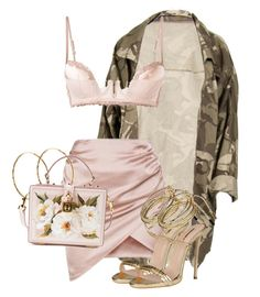Untitled #3782 by xirix on Polyvore featuring La Perla, Dolce&Gabbana, Pernille Corydon and Dsquared2