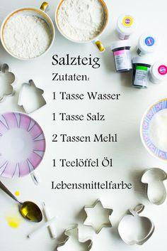 pfefferminzgruen: Mini Kerzenhalter aus Salzteig repinned by www.landfrauenverband-wh.de #landfrauen #landfrauenwüho #württemberg #hohenzollern