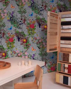 Bloomsbury Garden Wallpaper by Timorous Beasties - Urbanspace Interiors Hallway Wallpaper, Powder Room Wallpaper, Home Wallpaper, Bedroom Wallpaper, Subtle Background, Trellis Wallpaper, Flower Wallpaper, Glasgow School Of Art, Glasgow Uk